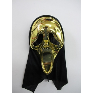 Gold Scream - Halloween Masks