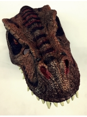Brown Dinosaur - Halloween Mask