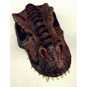 Brown Dinosaur - Halloween Mask