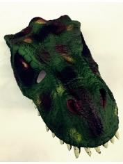 Green Dinosaur - Halloween Mask