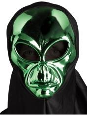 Area 51 Alien Mask Chrome Green