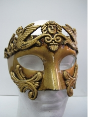Roman Gold Mask - Masquerade Masks