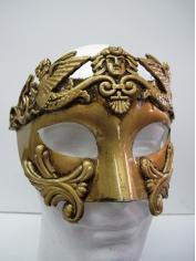 Roman Gold Mask - Masquerade Masks