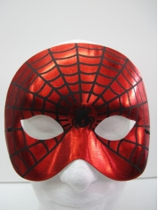 Spider Web Print Eye Mask - Masquerade Masks