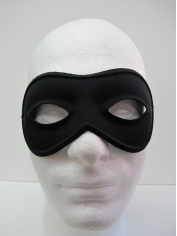 Round Black Eye Mask - Masquerade Masks