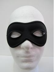 Round Black Eye Mask - Masquerade Masks
