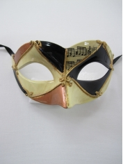 Gold Black Eye Mask - Masquerade Masks