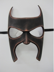 Bat Mask Copper