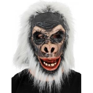 Grey Gorilla Full Head Mask