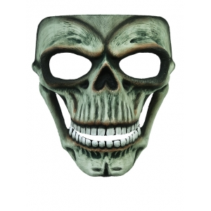 Evil Skeleton Unearthed Face Mask