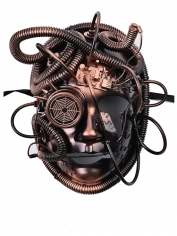 Reginald Steampunk Copper Face Mask