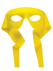 Hero Mask Yellow - Masquerade Masks