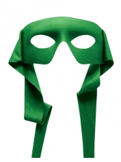 Hero Mask Green - Masquerade Masks