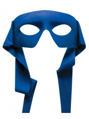 Hero Mask Blue - Masquerade Masks