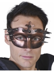 Spiky Bronze Eye Mask - Masquerade Masks