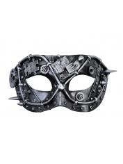 Steampunk Silver - Masquerade Masks