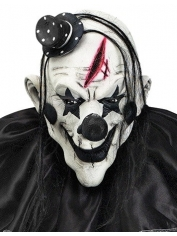 Devil Clown Mask With Hair