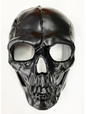 Black Skull - Halloween Masks