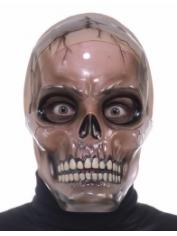 TRANSPARENT SKULL - Halloween Masks