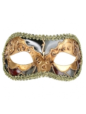 LUCIANA Metallic - Masquerade Masks