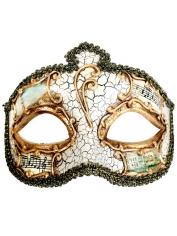 SALVATORE Black Eye Mask - Masquerade Masks