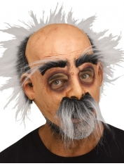 Mustache Hairy Harry - Old Man Mask