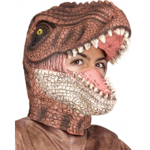 T-Rex Mask Brown - Animal Masks