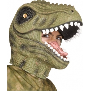 T-Rex Mask Green - Animal Masks