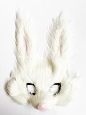 Bunny Half Mask - Animal Mask