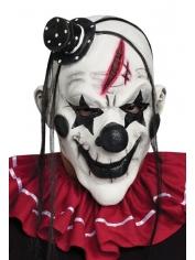 Deluxe Clown Mask Black - Halloween Masks