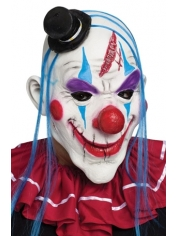Deluxe Clown Mask Red - Halloween Masks