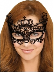 Queen Gothic Lace Mask - Masquerade Masks