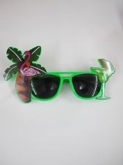 Tropical Cocktail Green - Novelty Glasses