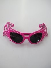 Dame Edna Glasses Pink - Novelty Glasses