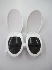 Toilet Seat Glasses - Novelty Glasses