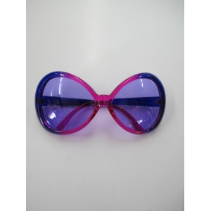 Big Pimp Purple and Pink Novelty Glasses