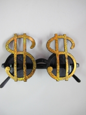 Dollar Sign Novelty Glasses