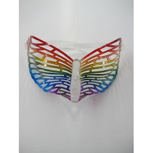 Rainbow Butterfly Glasses - Novelty Glasses