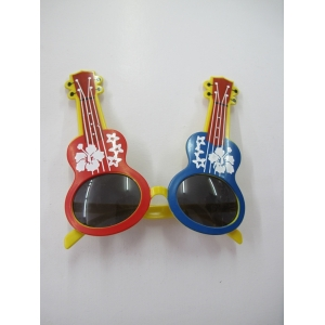 Colored Guitar Novelty Glasses