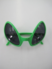 Green Alien Novelty Glasses
