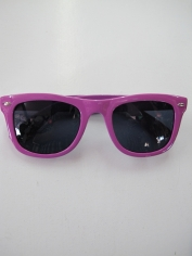 Blues Brothers Glasses Purple - Novelty Glasses