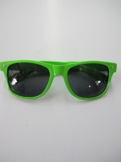 Blues Brothers Glasses Green - Novelty Glasses