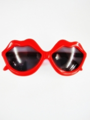 Red Lip Shaped Glasses - Novelty Glasses