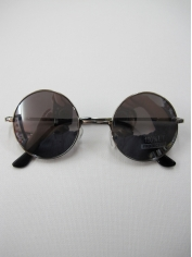 John Len Sunglasses Silver Mirror - Novelty Sunglasses