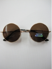 60's John Lennon Sunglasses Black