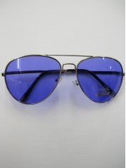 Aviator Novelty Sunglasses - Blue