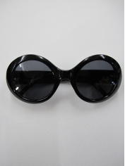 Princess Grace Black Sunglasses
