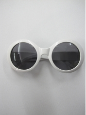 Princess Grace White Sunglasses  - Novelty Sunglasses