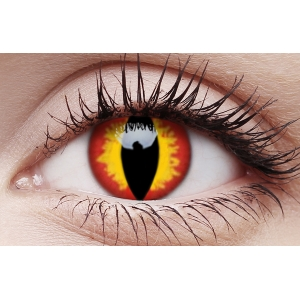 Dragon Eyes - One Day Colored Crazy Contact Lenses