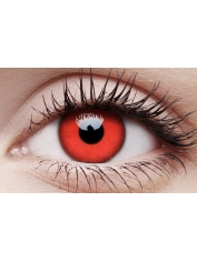 Red Devil - One Day Colored Crazy Contact Lenses